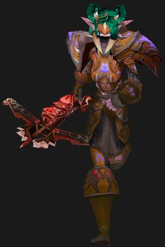 Looking towards The Patch 5.4 Hunter Changes (Night Elf in Cryptstalker Armor)