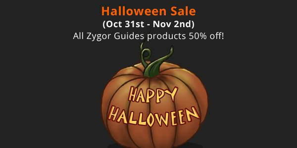 Zygor Guides Halloween Sale