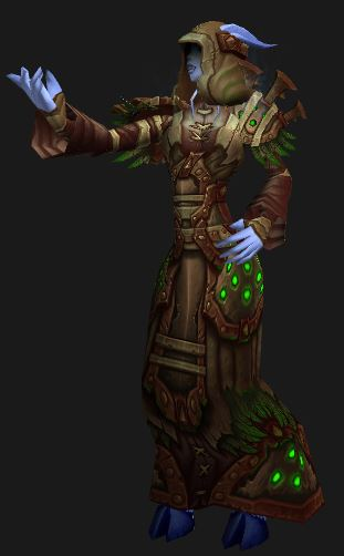 Draenei Holy Priest in Season 14 Conquest Elite Gear, looking forward to the season 15 set and wondering why the pieces shown are for the Horde?