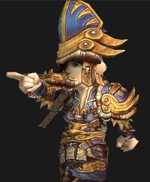 Gnome Holy Priest in Tyrannical Gladiator PvP Gear