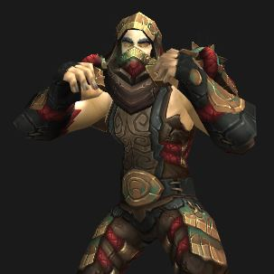 "Human Monk Grievous Gladiator, ""Let's Fight!"""