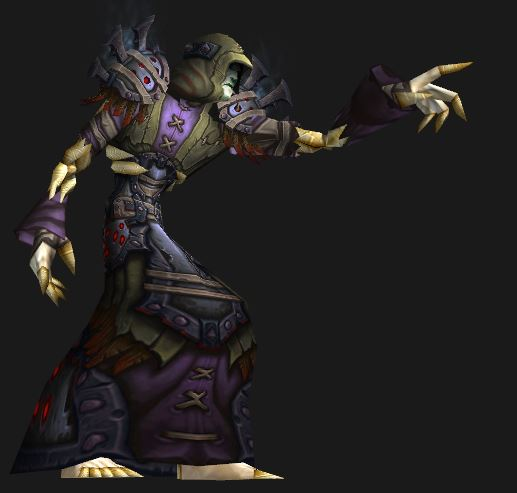 Undead Holy Priest in Season 14 Conquest Gear