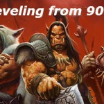 leveling from 90 to 100