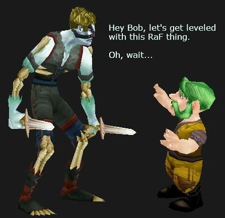 Gnome and Undead Leveling together? Maybe not...