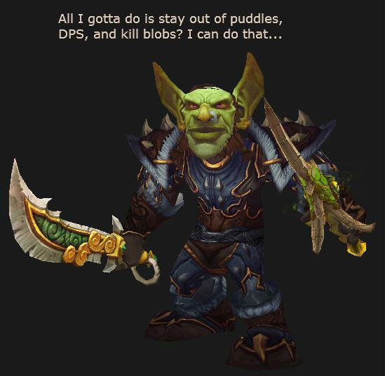 Raiding Goblin Rogue in 522 gear