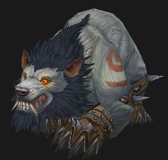 Worgen Druid Bear form