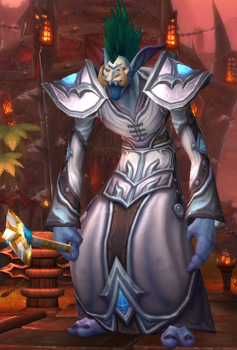 A new Troll Priest for Warlords of Draenor