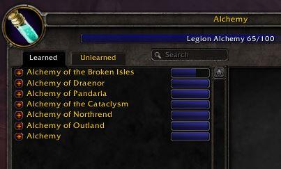 Alchemy Leveling Guide for BFA - Gotwarcraft com