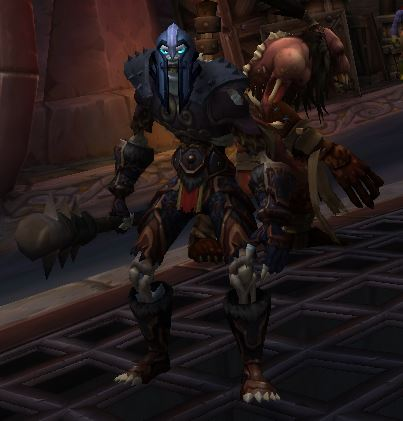 Unholy Death Knight and Minion.