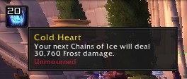 Cold Heart for Frost Death Knights
