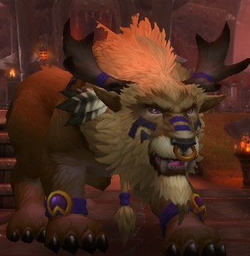 Highmountain Tauren Druid