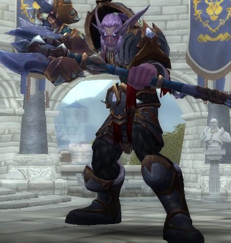Night Elf Fury Warrior