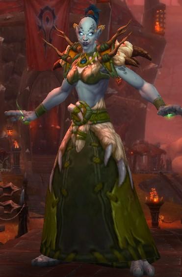 Zandalari troll Druid