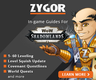 Level Fast through the Shadowlands!, with Zygor!